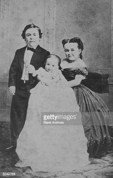 General Tom Thumb Born Charles Sherwood Stratton he grew only to the height of thirty three inches and became famous in the circus shows of PT Barnum...