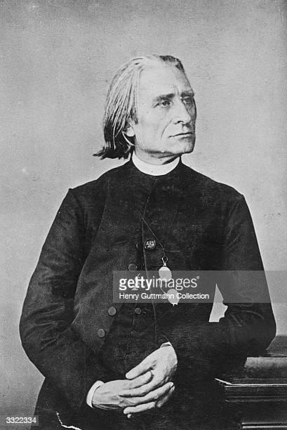 Hungarian composer Franz Liszt