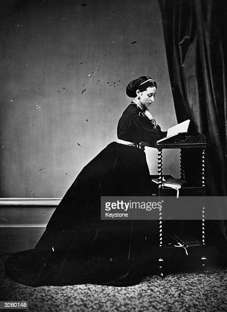 Princess Alice of Hesse the third daughter of Queen Victoria and the wife of the Grand Duke of Hesse