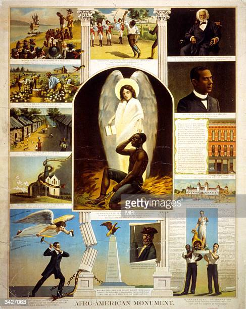 Print entitled The Afro-American Monument.