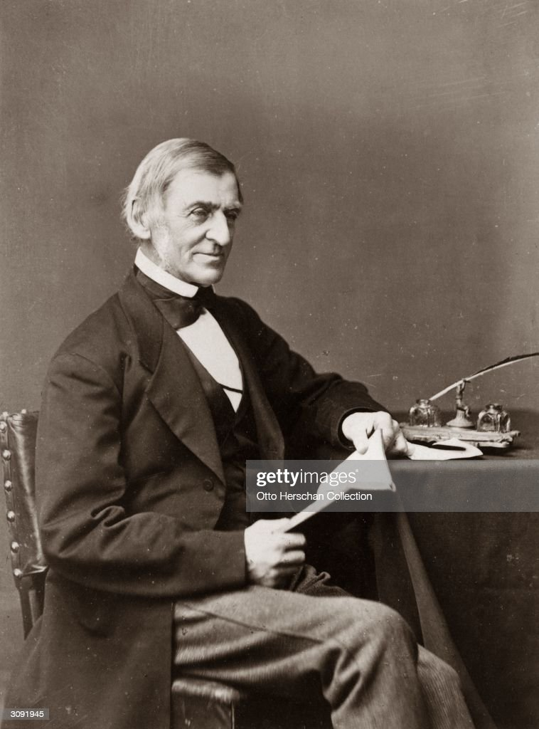 Ralph Waldo Emerson : News Photo