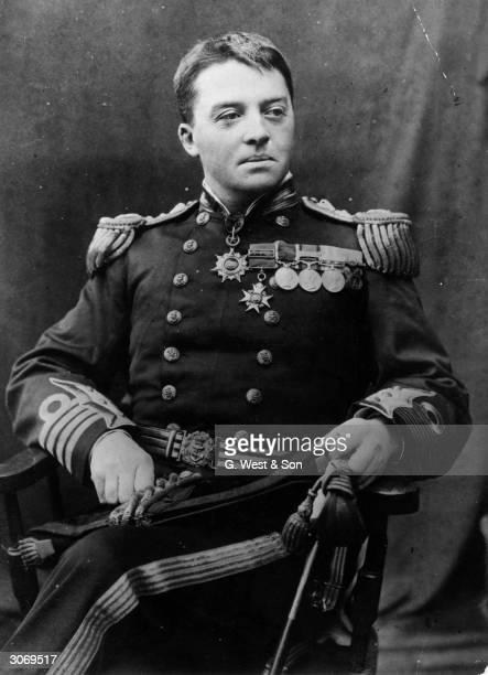 English Admiral John Arbuthnot Fisher later 1st Baron of Kilverstone