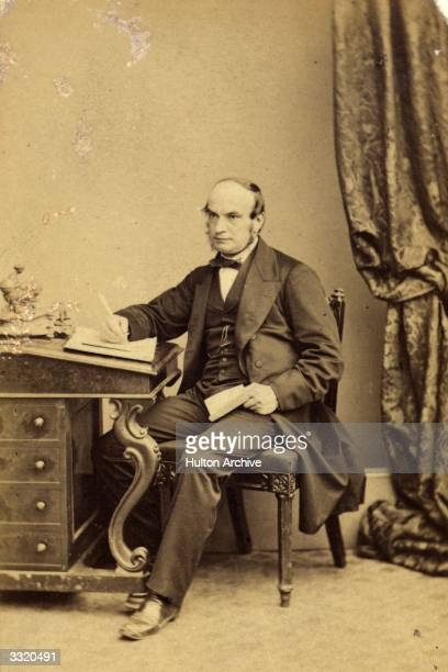 English astronomer John Couch Adams who located the planet Neptune