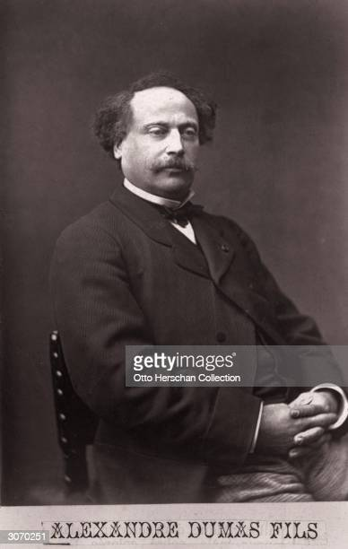 French writer Alexandre Dumas fils the son of Alexandre Dumas pere His most famous work was 'La Dame aux Camelias' the inspiration for Verdi's opera...