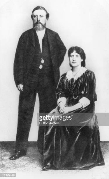 German socialist Wilhelm Liebknecht with Tussy Marx the daughter of Karl Marx