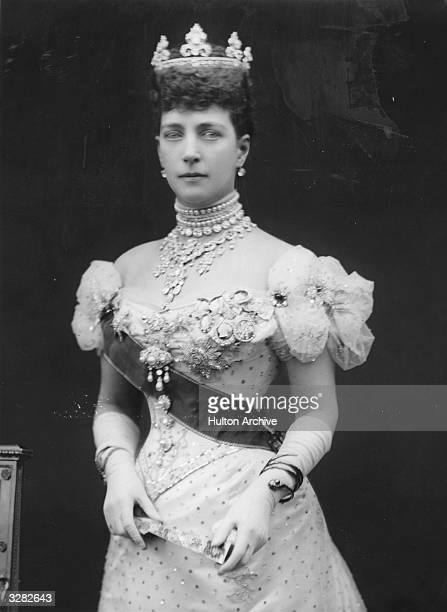 Queen Alexandra queenconsort of British monarch Edward VII whom she married in 1863 Their reign was from 1901 to 1910