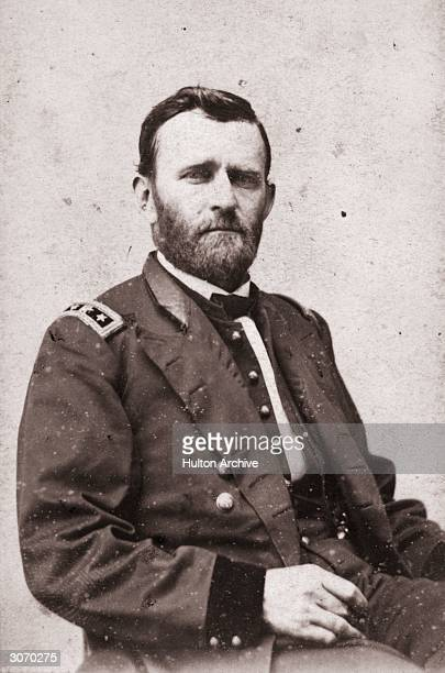 US general Ulysses Simpson Grant the 18th president of the United States