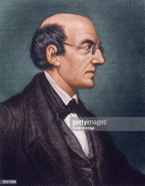 William Lloyd Garrison . American abolitionist, printer and journalist, published 'The Liberator' at Boston, Massachusetts 1831-65, advocating...