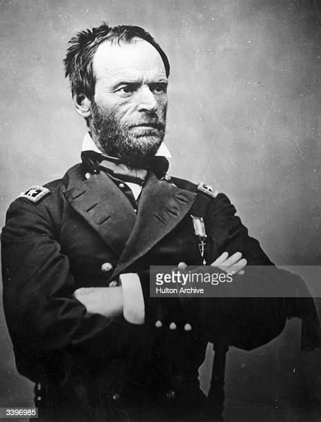 William Tecumseh Sherman general of the US Union army during the American Civil War Following the Union victory Sherman was made commander of the...