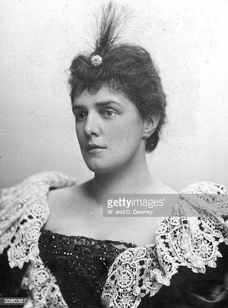 American heiress Jennie Jerome daughter of Leonard Jerome and later Lady Randolph Churchill mother of Winston Churchill