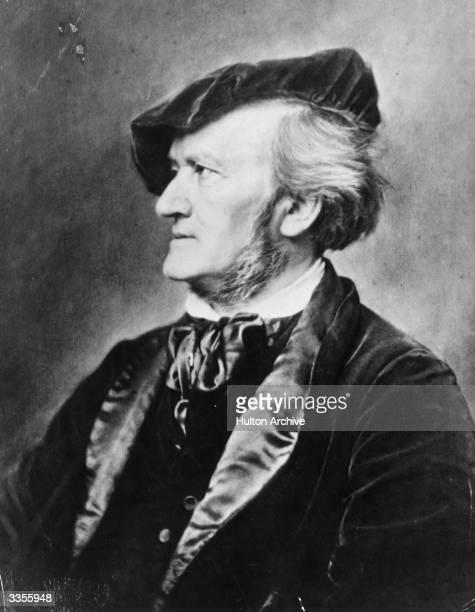 German composer Richard Wagner