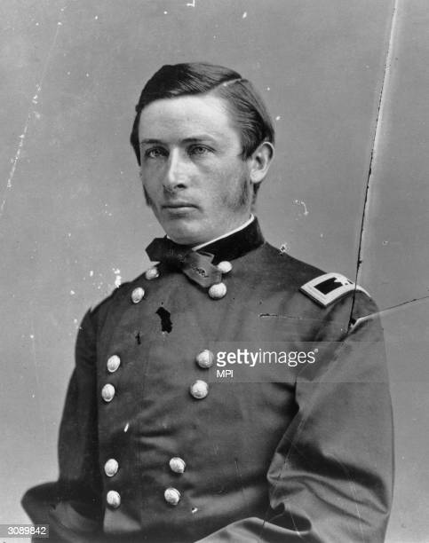 American Cavalry officer Ranald MacKenzie who led troops against Comanche Indians in Mexico and later against the Oglala Sioux and Cheyenne