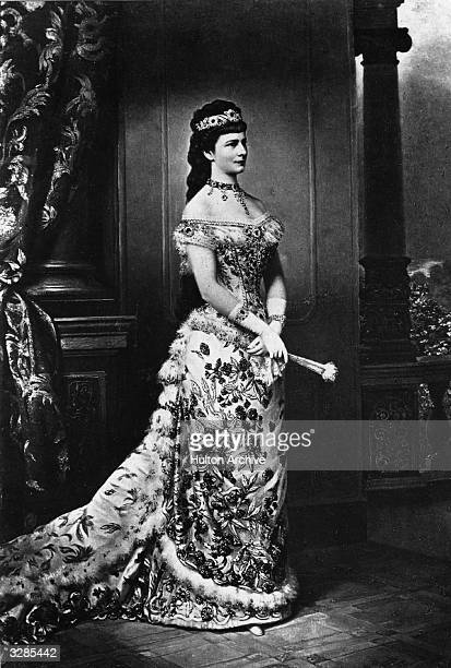 Empress Elisabeth Amalie Eugenie of Austria born Duchess of Bavaria