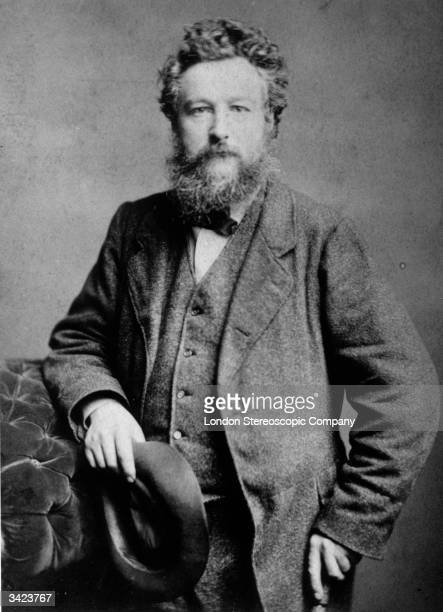 English artist designer writer leader of the Arts Craft Movement and early socialist William Morris who is best remembered for his wallpaper designs