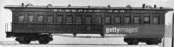 Pullman Pioneer sleeping car the first sleeper made by the firm