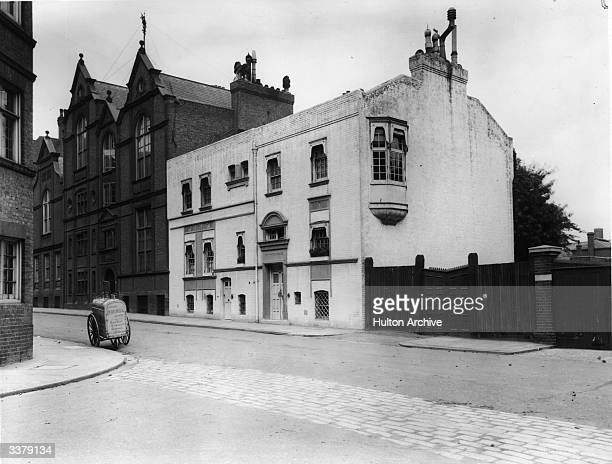 The 'White House' Tite Street Chelsea London former home of American artist James Abbott McNeill Whistler The house was designed by architect Edward...