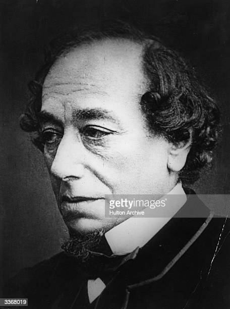 British statesman and Conservative prime minister Benjamin Disraeli first Earl of Beaconsfield