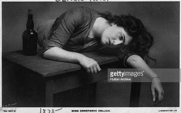 The actress Constance Collier in the show 'Oliver Twist'