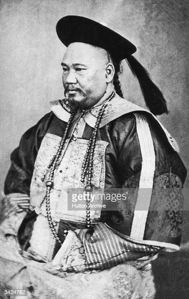 A Chinese Mandarin in national dress