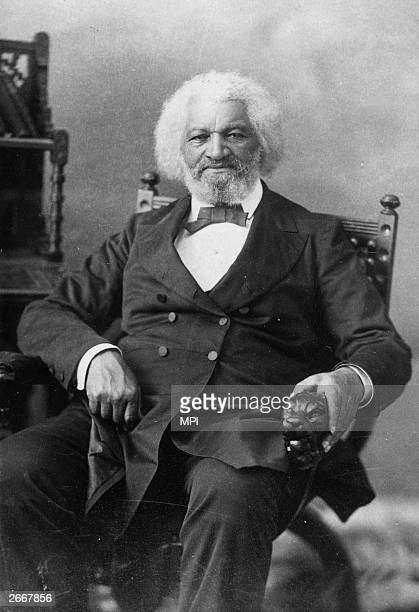 American orator abolitionist writer and escaped slave Frederick Douglass