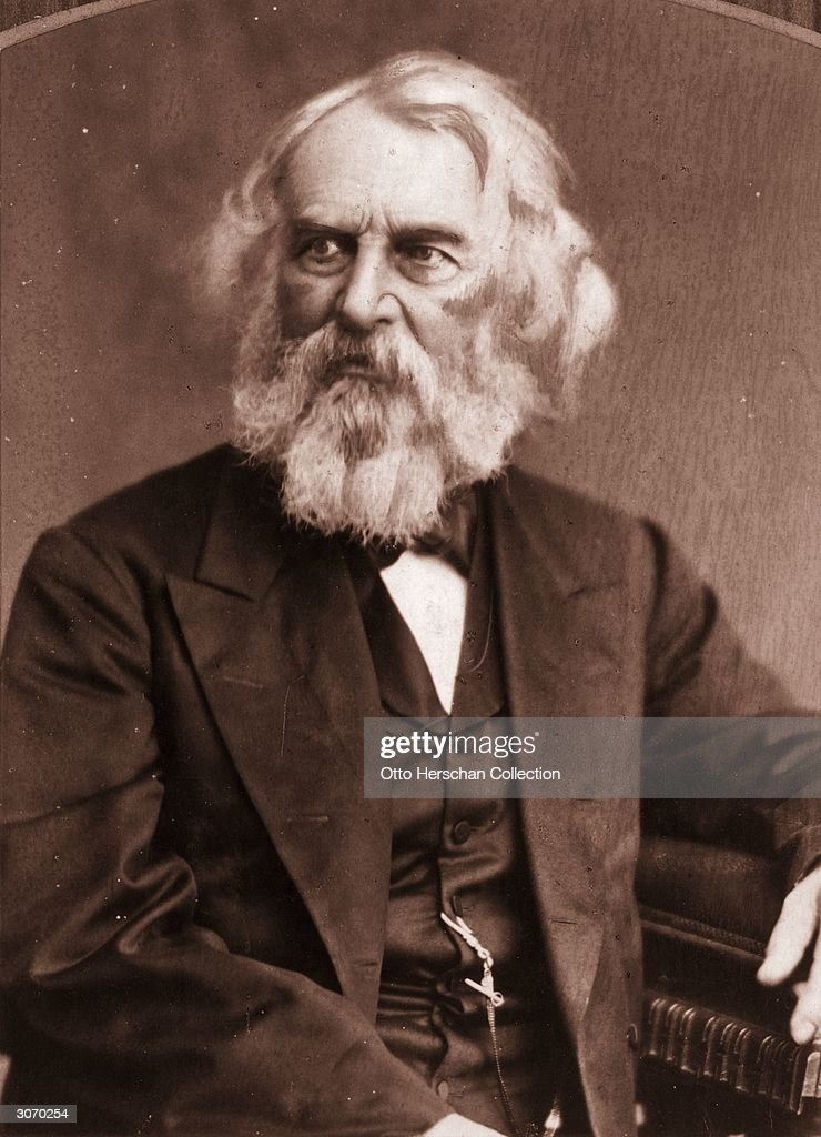 longfellow pictures getty images american poet henry wadsworth longfellow 1807 1882 author of the song