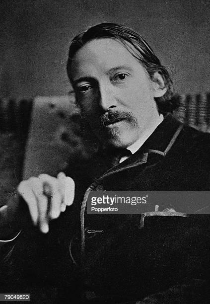 Author Robert Louis Stevenson Scottish Writer 18501894