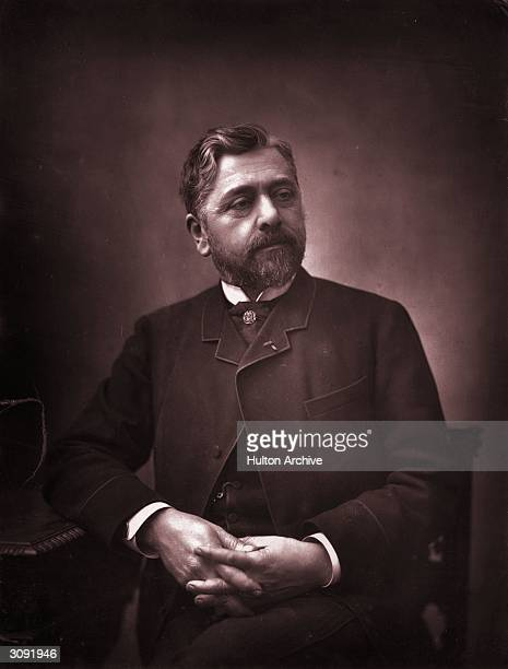 French engineer Alexandre Gustave Eiffel who cast Auguste Bartholdi's Statue of Liberty and constructed the Eiffel Tower in Paris