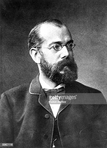 German bacteriologist Robert Koch who isolated the bacillus of tuberculosis.