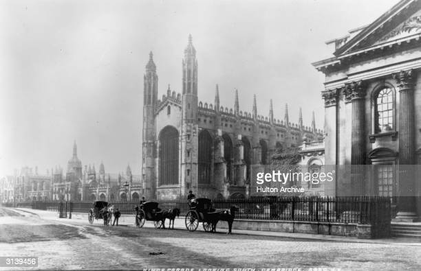 Kings College Cambridge famous for its choir and chapel Founded in 1441 by King Henry VI