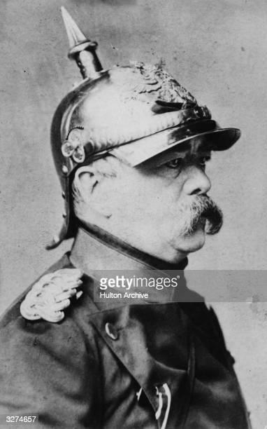 Otto Edward Leopold Von Bismarck the soldier statesman and Duke of Lauenburg