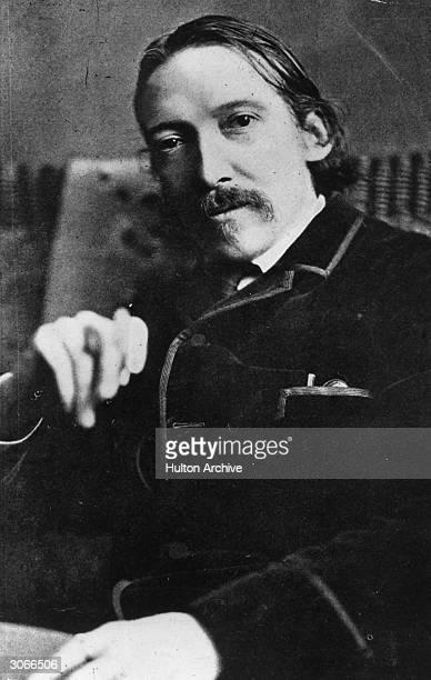 Scottish novelist poet and travel writer Robert Louis Stevenson