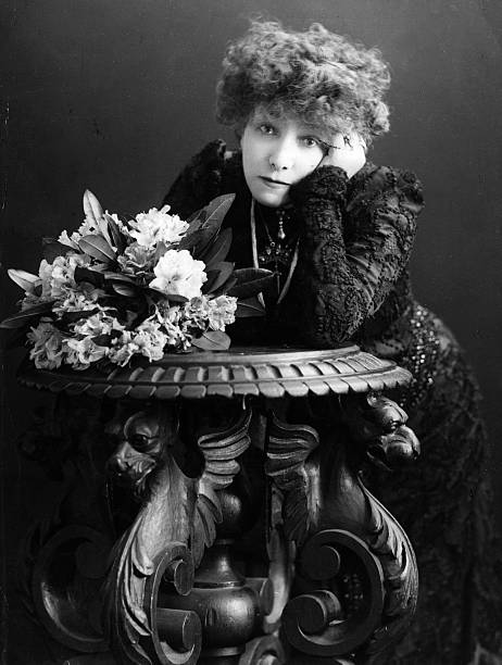 The French actress Sarah Bernhardt formerly Henriette...