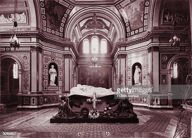 The Royal Mausoleum of Prince Albert consort to Queen Victoria in Frogmore Windsor