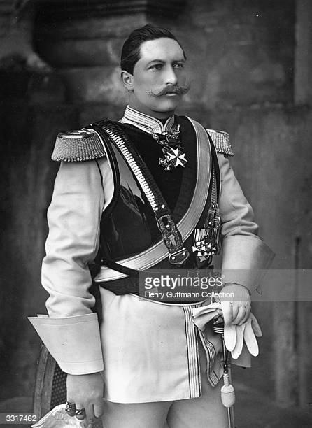 Wilhelm II third German emperor and ninth king of Prussia as crown prince