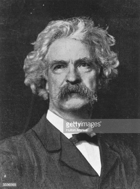 American humourist and writer Mark Twain