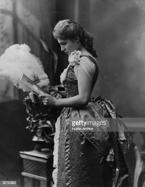 British actress and renowned beauty Lillie Langtry known as the 'Jersey Lily' who was an intimate friend of King Edward VII
