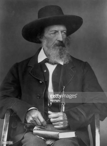 English poet Alfred Lord Tennyson .