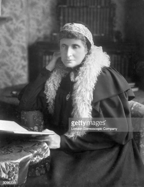 English social reformer and promoter of women's education Josephine Butler