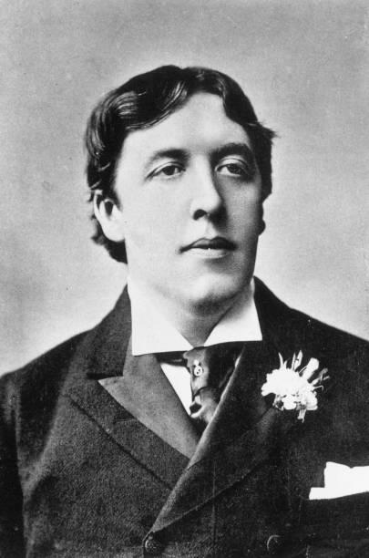 Irish playwright, poet and novelist Oscar Wilde , author...