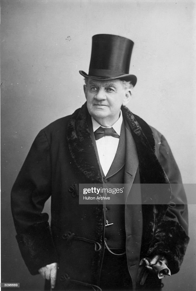 Portrait Of P.T. Barnum : News Photo