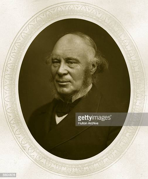 Sir John Fowler railway engineer known to the public as 'Fowler of the Underground Railway Woodbury Type Oval by Lock Whitfield