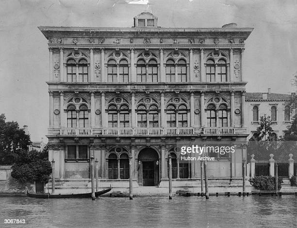 The Palazzo Vendramin Calergi on the Grand Canal in Venice where composer Richard Wagner died