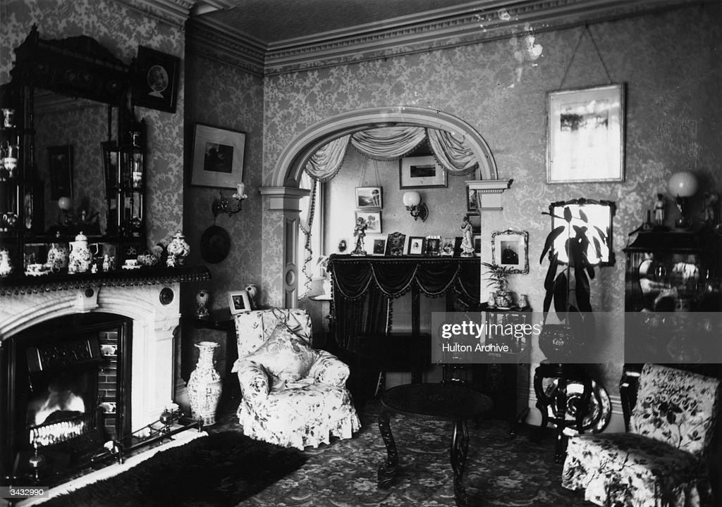 A Late Victorian Drawing Room News Photo Getty Images