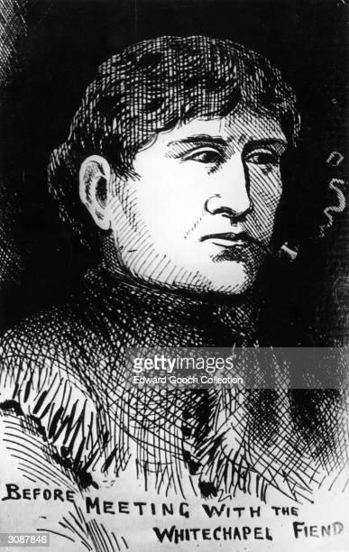 Alice Mckenzie a victim of Jack the Ripper Original Publication Illustrated Police News pub circa 1890