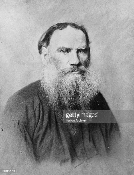 Count Leo Nikolayevich Tolstoy , writer, aesthetic philosopher and mystic.