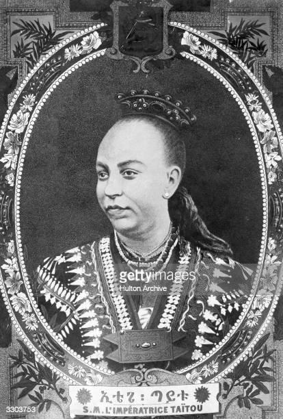 Empress Taitu of Abyssinia widow of Menelik II