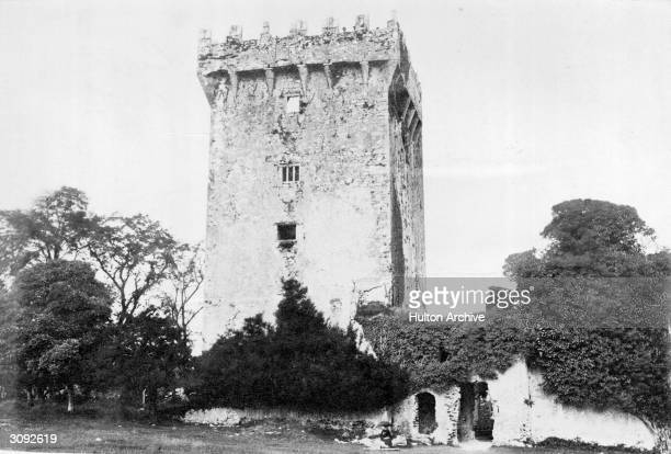 Exterior of Blarney Castle in Cork city home of the Blarney Stone