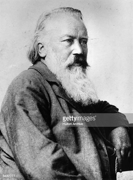 German composer Johannes Brahms