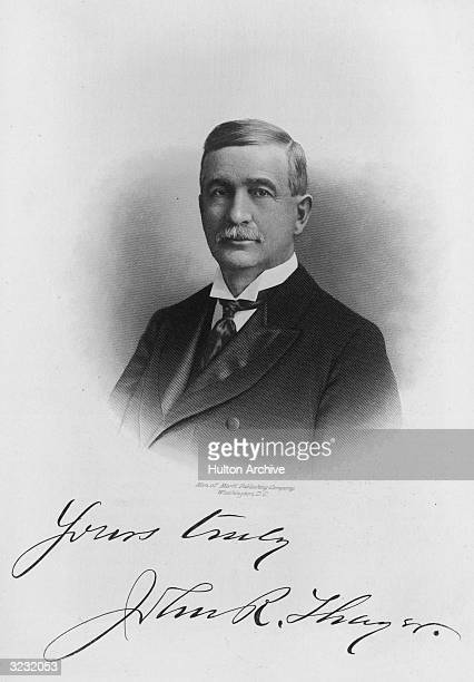 John Randolph Thayer . American lawyer and politician who a Democratic member of the Unites States House of Representatives from 1899-1905.