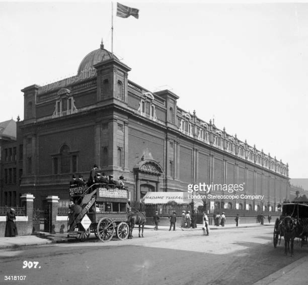 Madame Tussaud's waxworks museum on Baker Street London
